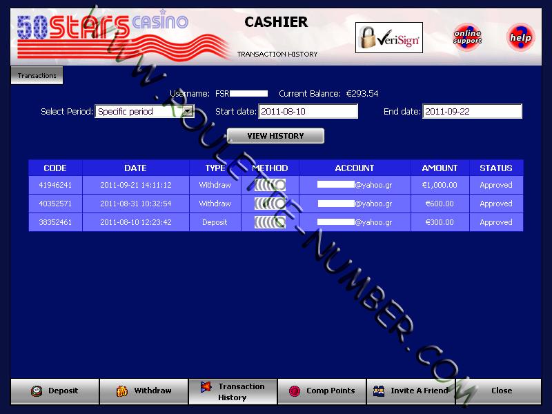 Makis Minas aus Griechenland gewann 1.600 EUR im 50Stars Casino